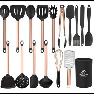Silicone stainless steel copper 17piece set New
